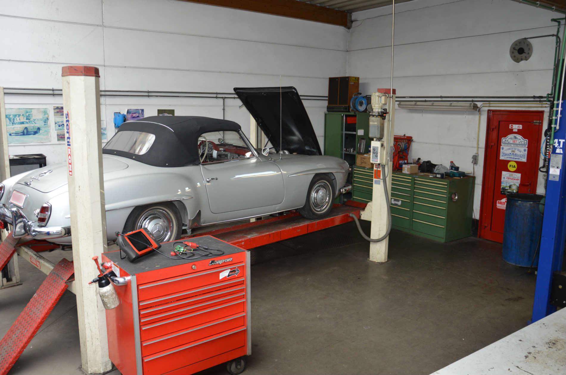Herstelling garage Portello